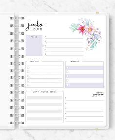 Master Planner - New Roses Planner 2018, Agenda Planner, Planner Tips, Planner Layout, Happy Planner, Planner Sheets, Planner Pages, Planner Stickers, Filofax