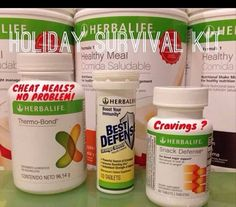 Holiday Survival Kit!!! The no gain solution!!!! Get out of your stretchy pants and into your skinny jeans!! Lose Weight Now!!! Ask me how!!! Contact me to personalize a plan today!!! Herbalife works!!! #1 Nutrition and Wellness Company in the World!!! Energy. Nutrition. Fitness. Amazing Results. Kt.laliberte@gmail.com www.goherbalife.com/kt