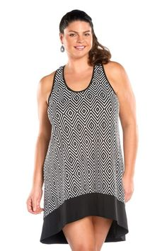 1cd6c0f8dddd3 Always For Me Crinkle Jersey Plus Size Cover Up