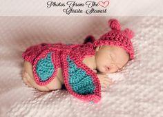 Newborn Butterfly Photo Prop Set by LNoelDesigns on Etsy, $30.00