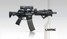 This is my dream gun, SBR with the collapsible stock..... Honey Badger, I especially like the surefire 60rd mag
