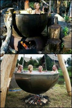 A collection of hot tubs that will make you want to plunge in!