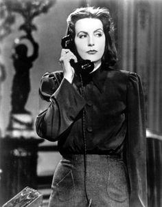 """Greta Garbo in """"Ninotchka"""" (1939). DIRECTOR: Ernst Lubitsch."""