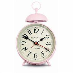 Ritz Alarm Clock- Dreamy Pink by Newgate | Clocks Gifts | chapters.indigo.ca | #indigofaves #clocks #homedecor #pink