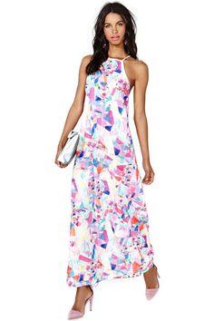 Pin for Later: 24 robes parfaites pour un mariage sur la plage !  Nasty Gal Maxi Dress ($88)