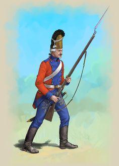 Royal Lithuanian Guard 18th century - Polish Lithuanian Commonwealth