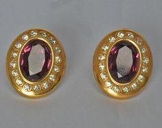 Fabuleux HOBE Vintage boucles d'oreilles or par JewelryBoulevard