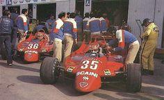 Bruno Giacomelli [36] Vittorio Brambilla su Alfa Romeo 179