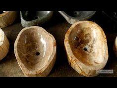 Petrified Wood Kitchen Sink | IndoGemstone