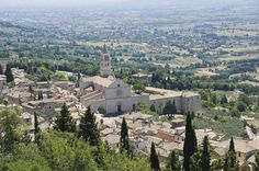 Assisi in Italy.