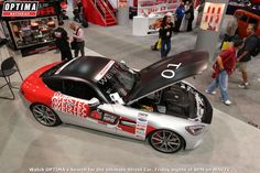 Weistec's 1000-horsepower 2015 Mercedes-Benz GT S will compete in the 2015 #OUSCI. Learn more at www.optimainvitational.com