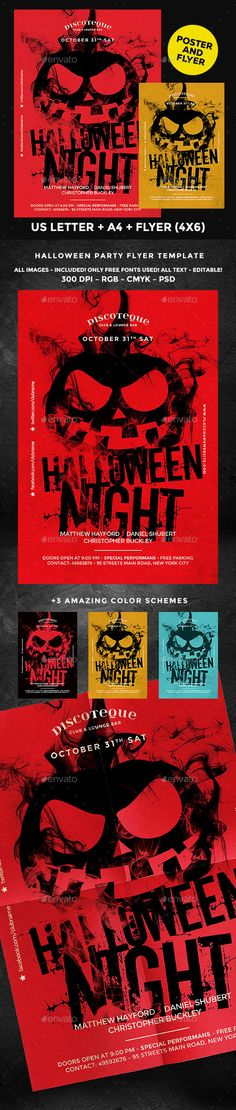 Halloween Party Flyer Template Flyer template, Halloween and Flyers - zombie flyer template