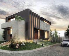 #Casa en Los Naranjos (: @eba_architecture,: #Mexico, ❤️: @ArchitectureOskar) #modern #cad #future