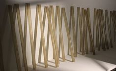 """Installation view of """"Accretion"""" created in 1968."""
