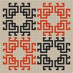 Resultado de imagen para biscornus PX cross-stitch-free