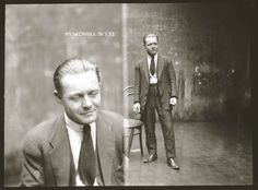 Mugshots like a photo shoot. WORK IT! William Cahill, 1923, Sydney Justice & Police Museum