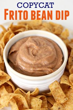 Copycat Frito Bean Dip Recipe - Easy Game Day or Party Appetizer