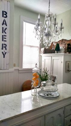 This image has no associated link Cedar Hill Farmhouse, Carrara Marble, Kitchen Cabinets, Projects, Link, Image, Home Decor, Style, Log Projects