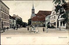 Pyritz, Blick in die Stettiner Straße