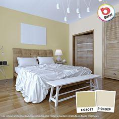 Los colores claros son ideales para espacios pequeños #Decoracion