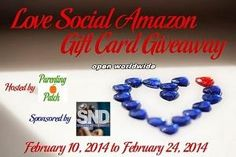Contest: Love Social Amazon Gift Card #Giveaway