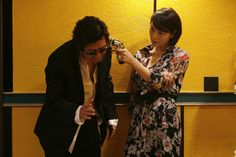 KIM Yun-seok (left) and KIM Hye-soo (right) in TAZZA: THE HIGH ROLLERS (Tajja, 타짜, The War of Flowers). Available on R1 DVD - Sept. 18, 2012. Tazza: The High Rollers © 2006 CJ Entertainment Inc. and IM Pictures Corp.