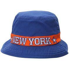 580d4fe54f4ab New York Knicks adidas Lifestyle Bucket Hat - Blue