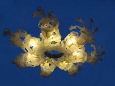 'Schoep' made by Heleen van Zantvoort Reuse, Lamps, Chandelier, Ceiling Lights, Lighting, Home Decor, Lightbulbs, Candelabra, Decoration Home