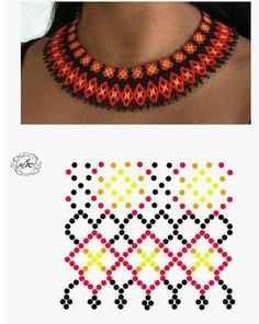 Сетка Beaded Necklace Patterns, Beaded Earrings, Crochet Necklace, Bead Loom Patterns, Native American Beading, Beading Tutorials, Loom Beading, Bead Weaving, Bead Crafts