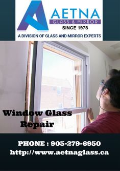 If you looking for window glass repair in Mississauga, contact Aetna Glass and Mirrors. Window Glass Repair, Canada, Windows, Type, Mirror, Detail, Window, Mirrors, Ramen