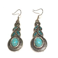 Natural turquoise earrings Natural turquoise earrings Jewelry Earrings