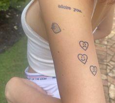 Baby Tattoos, Dream Tattoos, Time Tattoos, Little Tattoos, Small Tattoos, Tattoos For Guys, Pretty Tattoos, Beautiful Tattoos, Piercing Tattoo