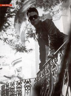 Robbie Williams Robbie Williams Take That, Alex Turner, Love Him, Eye Candy, Art Photography, Celebrities, Porch, Collage, Fancy