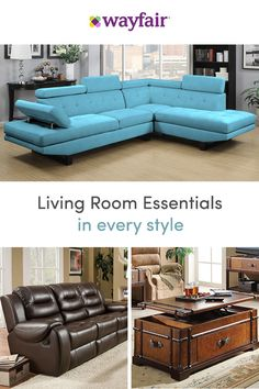 Sign up for access to exclusive sales, all at up to 70% OFF! Wayfair's sofas complete your living room look. With rolled arms, built-in ottomans, recliners, tufting, and leather, our vast selection of sofas has every feature you can imagine to suit all styles and budgets. To top it off, we're offering FREE shipping on all orders over $49.