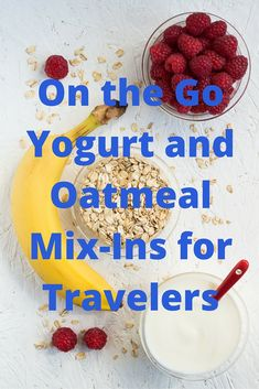 Make your hotel breakfast better by adding some mix-ins to your oatmeal or yogurt!    https://businesstravellife.com/upgrade-hotel-breakfast/