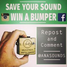 New giveaway by @anasounds:  #bumpercontest Your sound needs a good spring clean ! Anasounds offers you to win a free BUMPER to keep your sound cleaner than ever.  How to participate : -Comment and share this publication by april 4 thats it !  Double your chances of winning by also participating on Facebook !  The result of the contest will be posted on Facebook and Instagram the 4th of April 2016. (Winner will be chosen by draw) ------------------- Fr  Cest le grand nettoyage de printemps…