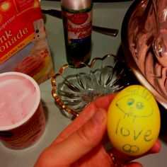 My favorite Easter egg my son Tommy did for me!
