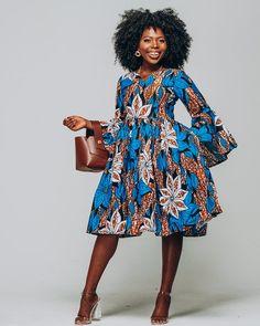 Items similar to Ankara Dress African Clothing African Dress African Print Dress African Fashion Women's Clothing African Fabric Short Dress Summer Dress on Etsy African Print Dresses, African Dresses For Women, African Attire, African Fashion Dresses, African Prints, Ankara Fashion, African Women, African Style Clothing, African Print Dress Designs