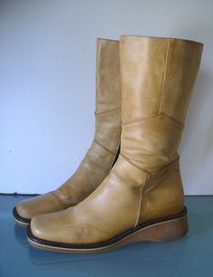 Torretti Made in Italy Moto Boots Size 40 by EurotrashItaly on Etsy