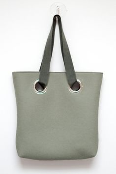 Felt tote bag with fabric strap and metal eyelets  in by StudioBIG, €59.00