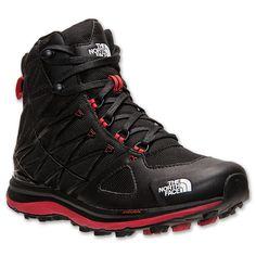 Men's The North Face Arctic Guide Lite Boots | Finish Line | Black/Red