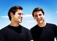 I'm curious as to why they wear black a lot, but they're still smokin hot.  Stjepan Hauser and Luka Šulić
