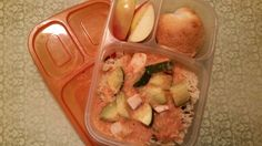 Lunches Fit For a Kid: Leftover Brazilian Mahi Mahi Stew in Mommy's lunch in @easylunchboxes