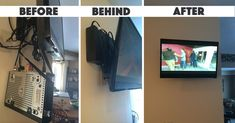 """Michelle C. from Michigan  """"I knew that there had to be something available as wall mounted TV are so popular, but no one knew of anything. This device is simple and perfect! It literally was up on the wall 5 minutes after I opened the box! I am mounting the TV on the wall in another room soon and will be ordering at least 2 more of these. Fast delivery and accurate product descriptions."""""""