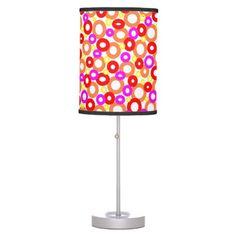 Retro OoOo Lamp - JUSTART on Zazzle