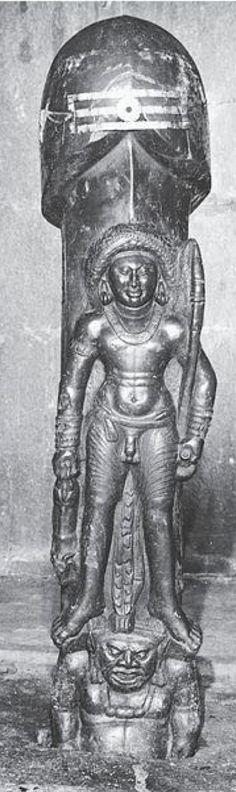 Shiva from Gudimallam, century, Andra Pradesh Shiva Linga, Shiva Shakti, Indian Gods, Indian Art, Tantra Art, Hindu Statues, Apocalypse Art, Hindu Deities, Greek Art