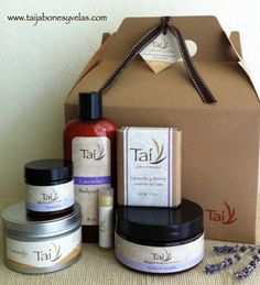 Our natural and handmade products are a perfect gift for a special ocassion!!!  www.taijabonesyvelas.com