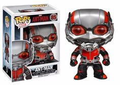 The next evolution of the Marvel Cinematic Universe brings Ant-Man to the big screen! Check out this Ant-Man POP from Funko! Standing 3 3/4 inches, now you can bring a part of the marvel magic home! Check out the other Ant-Man figures from Funko! #funko #funkopop #popvinyl #toy #toyfigure #marvel
