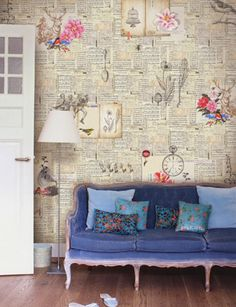 Feeling Papergood.  A stunning wallart from the Pip 2 Collection.