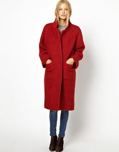 Своими руками: Пальто зимнее букле